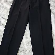 Giorgio Armani Pure Black Dress Pants  34x31  Photo
