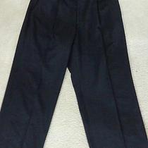 Giorgio Armani Pure Black Dress Pants 36x33   Photo