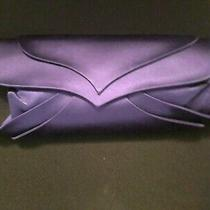Giorgio Armani Purple Satin Clutch Photo