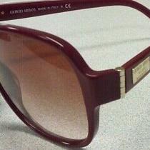 Giorgio Armani Sunglasses Red Ar 8020 5116/13 Photo