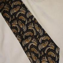 Giorgio Armani  Vintage Art Deco Tie / Cravatte  9 Photo