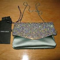 Giorgio Armani  Womens Clutch Handbag Purse Photo
