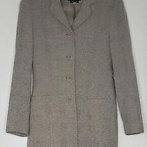 Giorgio Armani Wool Blend Jacket Blazer Rayon Lined Italy 4 Button Jacket 2 38 Photo