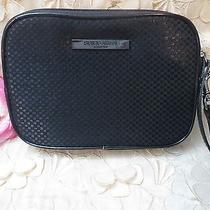 Giorgio Armani-Wristlet-Black With Wrist Strap and Mirror on Back/logo-Armani  Photo