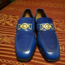 Giorgio Brutini Versace Buckle Dress Shoes Size 9.5 Photo