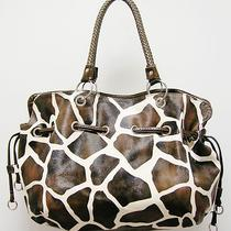 Giraffe Animal Print Design Hobo Style Handbag  Photo
