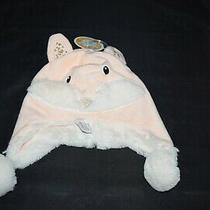 Girl 6-12 Mo Blush Plush Fiona Fox Hat Cap Stephan Baby Tags New Gift Infant Photo