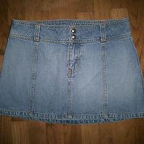Girl's Abercrombie Mini Jean Skirt - Size 16 Photo