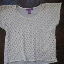 Girl's Aqua Lace Blouse  Photo