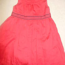 Girls Baby Gap Dark Pink/blue Lined Sleeveless Dress-2t- Free Shipping Photo