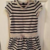 Girl's Baby Gap Dress 3t Gray Short Sleeves Toddler Kids  Photo