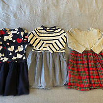Girl's Baby Gap Holiday Lot of 3 Dresses 5t 5 Years Photo