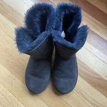 Girls Bailey Button Ugg Boots  Photo