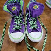 Girl's Converse All Star Crayola Canvas Athletic Sneakers-Size 3 Photo
