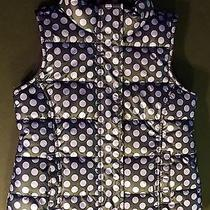 Girl's Gap Kids Purple Polka Dot Vest Size Xs (4-5) Photo