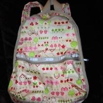 Girl's Lesport Sac Regular Size Backpack Euc Photo