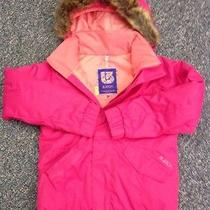 Girl's Pink Winter Coat Photo