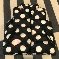 Girl's Puffer Vest From Gapkids  Polka Dots - Size Xs Photo