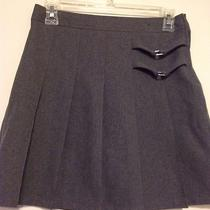 Girl's Size 14 French Toast Heather Gray Scooter Skort Photo