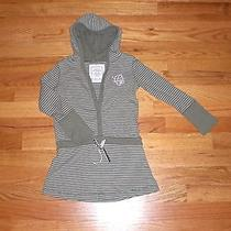 Girl's Size 4-5 H & M Stripe Dress With Hood Photo