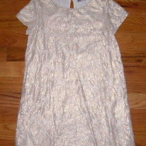 Girl's Size 6-8 Years  H & M Jersey &  Lace Dress Photo