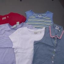 Girl's Size 7 Shirts Tops Lot of 5 the Children's Place Gap Circo Hartstrings Photo