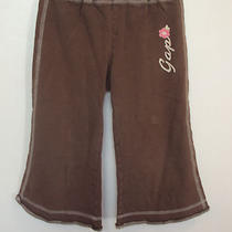 Girl's Size S (6-7) Gap Kids Capri Pants Wide/flared Leg Legging Style Logo Photo