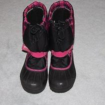 Girl's Snow Boots Columbia Size 3 Photo
