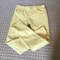 Girls Yellow Gap Jeans Size 14 Photo