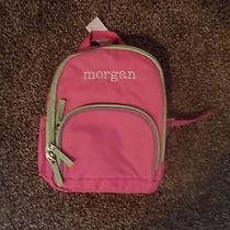 Girl Seahorse Personalized Monogram Pottery Barn Kids Mini Backpack Addison    Photo