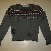 Girl Size 14-16 Kc Parker Gray Sweater  S5 Photo