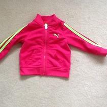 Girls 12 Mo. Sports Jacket Pink Sport Life Style  Puma  Photo