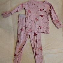 Girls 18-24 Baby Gap Two Piece Princess Pajamas Fall Winter Sleepwear Photo
