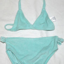 Girls 2 Piece Baby Gap Terry Cloth Bikini Size 18-24 Months Free Shipping Photo