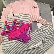Girls 3t-4t Baby Gap and Children Place Clothes Plus a 2 Pc Swim Suit. Photo