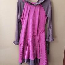 Girls 4 4t Isobella & Chloe Knit Ruffle Leopard Dress New Nwt Lined Fall Hooded Photo