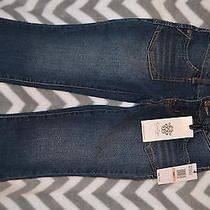 Girls 7 New Jessica Simpson Cropped Jeans Retail  30.00 Trendy Photo