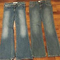 Girls Abercrombie and Billabong Jeans Size 12 Photo