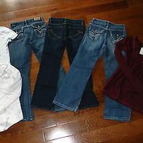 Girls Abercrombie & Fitchlevi'scarhartt Trendy Lot Sz 8 Photo
