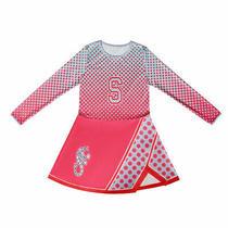 Girls Addison Costume Zombies Cheerleader Toddler Rose Dress Photo