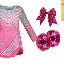 Girls Addison Costume Zombies Cheerleader Toddler Rose Dress Two Cheerleader Po Photo