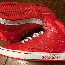 Girls Adidas Ortholite Red/pink Sneakers Apc O11001 Art G65894 Size 5 Photo