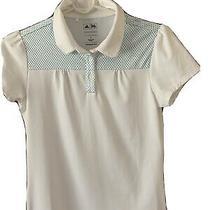 Girls Adidas Puremotion Golf Shirt Top Large Excellent Pre-Worn Condition Photo