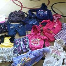 Girls Adorable Name Brand 14 Piece Clothing Lot Size-6x Photo