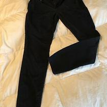 Girls Aeropostale Black Jeans High Waisted Jeggings Size 2 Reg Teen Juniors Photo