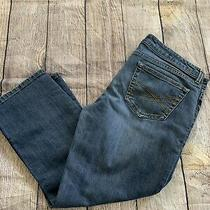 Girls Aeropostale Jeans Size 9/10 Light Wash Straight Leg Photo