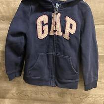 Girls Baby Gap Blue Zip Up Sweater 5 Years Photo
