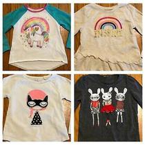 Girls Baby Gap Garanimals Long Sleeve Tee 4pc Lot Size 3t  Photo
