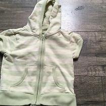 Girls Baby Gap Zip Up Sweatshirt. Short Sleeve. Size 18-24 Months Striped Photo