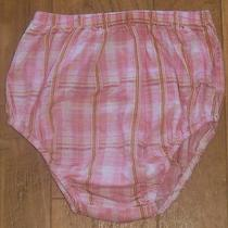 Girls Baby Lulu Size 4t Diaper Cover Pink Plaid Excellent Photo